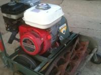 Trimmer reel mower for sale. It is in good shape and