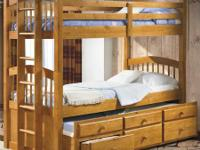 Triple Bunk Bed with space conserving storage !!!