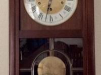 This is a Triple Chime Clock by the German clockmaker;