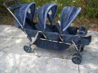 I have a Baby Trend Triple Stroller that is in