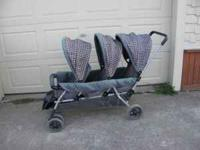 Hi we are selling our triple stroller give us a call.