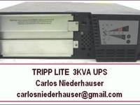 TRIPP-LITE 3KVA UPS for sale. Consists of internal