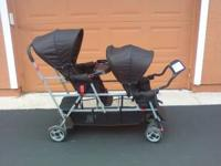 I have a Joovy Tripple Stroller for sale. I bought it a