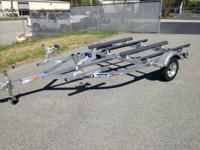 2014 TRITON ALUMINUM WATERCRAFT (jet ski) TRAILERS ON