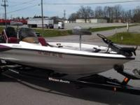 This is a 2008 Triton Bass Boat in really excellent