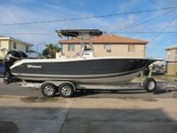 2007 triton 2486 center console with mercury 150