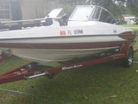 2004 Triton 5 seater bass/ski boat with a 150 mercury