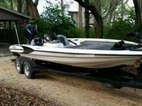 1999 triton bass boat tr21 in great condition ready to