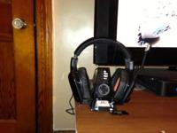 ttriton 7.1 surround sound gaming headphones with two