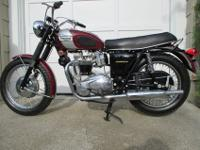 This renowned Triumph 650 Bonneville bike has actually