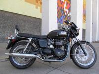 You are looking at a 2008 Triumph Bonneville, quite
