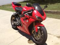 Triumph Daytona 675 - 2006 128 HP Low Miles, Price is