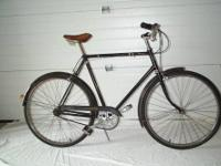 This is a Triumph 3 speed bicycle from the late 60's or