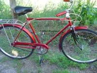This is a early 70's Triumph 3 speed road bike made by