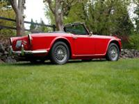 1966 Triumph TR4A IRS, Show condition car, frame off