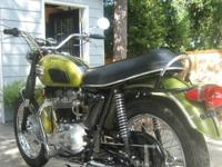 1970 Triumph Tiger 650 TR6R in excellent condition.