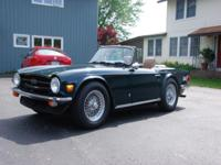 1975 Supercharged TR6. This is an unbelievable car! It