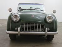 1957 Triumph Small Mouth TR3 1957 Triumph Small Mouth
