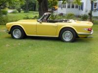 OWN A PIECE OF BRITISH SPORTS CAR HISTORY! 1973 Triumph