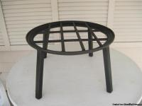 Trivet -- Custom made large campfire trivet. 062413
