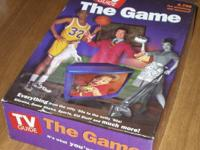 Milton Bradley TV Guide - The Board Game.  Excellent