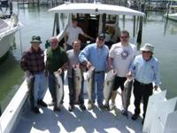 Fishing charter for up to 6 people for $400. All