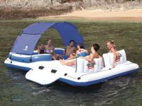 Bestway Tropical Breeze 6-Person Floating Island --