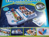 NEW TROPICAL TAHITI FLOATING ISLAND-FLOAT 6 PERSON