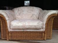 I have a very great wicker living room set, 4 pieces,