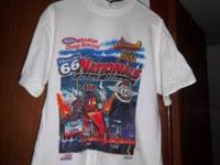 Rt 66 Ignagural July 15, 2001 Tropicana 400 t-shirt.
