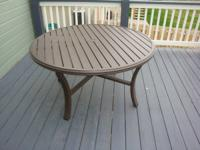 I have a Tropitone patio area table available for sale,