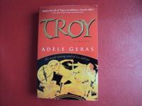 Troy A Novel Author Adele Geras Like New, I have 3