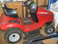 I have up for sale a 13 horse power troy-bilt riding