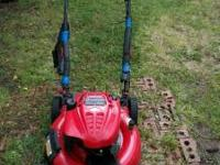 "Troy Bilt 21"" self propelled mower. Briggs & Stratton"