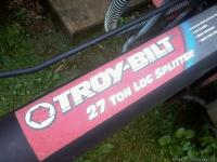 Troy-Bilt 27 Ton Horizontal/Vertical Log Splitter, not
