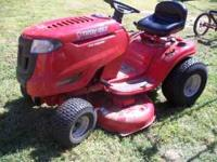 This mower is only about a year old. It is in good