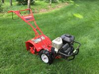 Troy-Bilt Bronco Rear Tine Rototiller with Optional