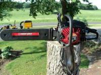 Troy-Bilt 50cc Chainsaw Make offer ! Sold as seen in