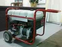 Troybilt 6200 run watt generator. $450.00 Cash...no