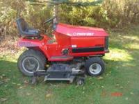 20 hp garden tractor 60 in mower 54 in snow blower 54in