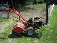 Nice Horse tiller with electric start, high/low speed,