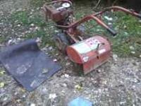 THIS IS THE TROY BILT TILLER HORSE , 80S MODEL , WORKS
