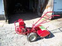 "The Troy Bilt ""Horse"" model offers a 6 H.P., 7 H.P. and"
