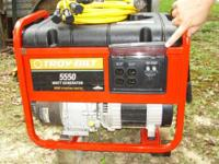 . Troy-Bilt Model 1919-0, 5550 Watt/8500 Starting,