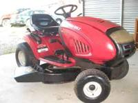 "17 HP, 42"" CUT, Hydrostatic, Mulcher with Pedal Drive &"