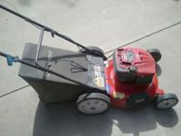 2005 TROY-BILT PUSH MOWER WITH LARGER BACK WHEELS, 6.75