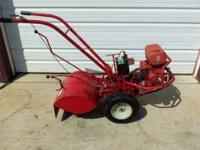 Troy Bilt Horse Rear Tine Tiller w/ electric start.