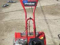 Like new rototiller. Has a 6.75 HP engine on it and it