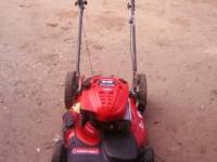 TROY-BILT SMART START 21IN CUT SELF PROPELLED START