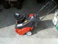 troy-bilt squall snow blower 5.5 hp 21inch path,